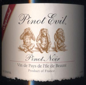 Pinot Evil - Best Wine Label Ever
