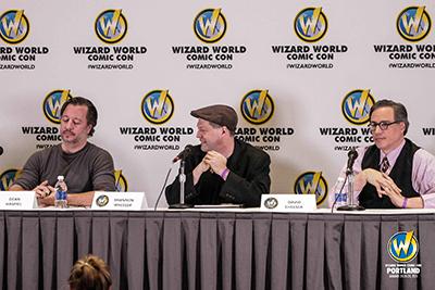 Titans Of Independent Comics panel