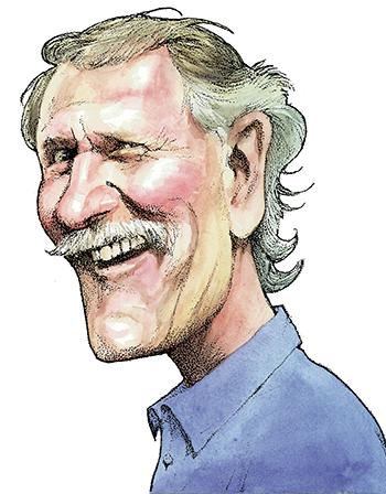Caricature for the Portland Tribune, 2001