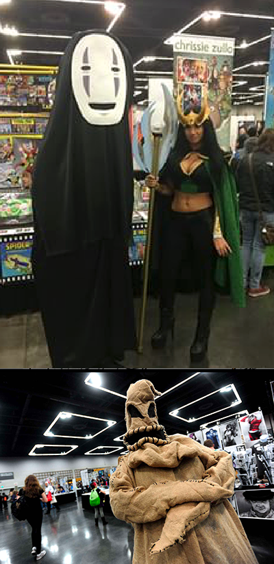 What is a comics convention without cosplay? Here are a few of the best ones I saw.