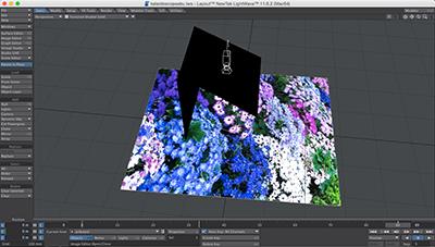 Creating a kaleidoscope video in Lightwave