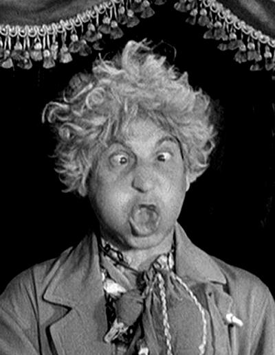 "Harp Marx making a ""Gookie Face""."