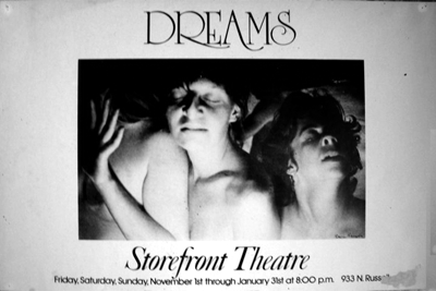 Poster for 'Dreams'.