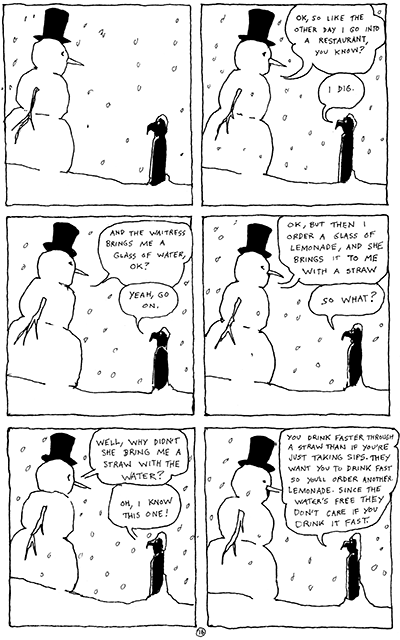 Snowman and Falcon: on the cutting room floor.