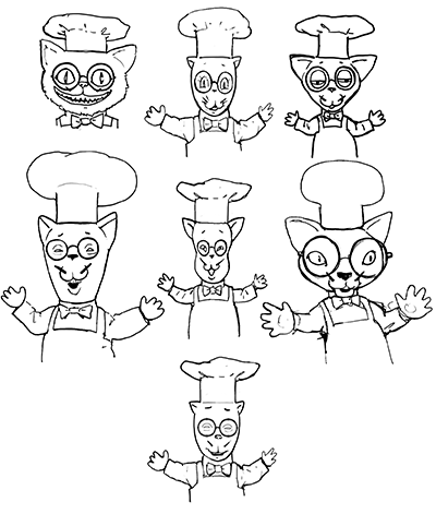 Prospective Chef Chat designs