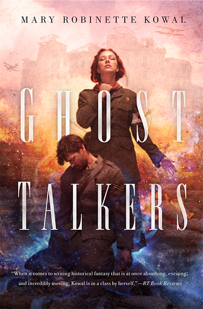 Cover of GHOST TALKERS, by Mary Robinette Kowal
