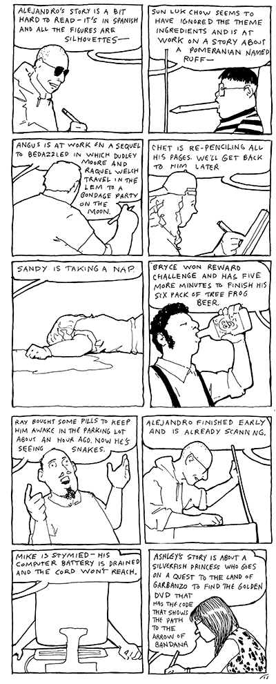 24 Hour Comic People, from ALL DAY AND ALL OF THE NIGHT