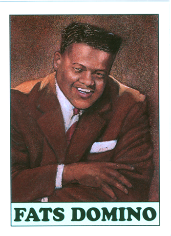 Trading card from BLOCKBUSTERS OF RHYTHM & BLUES set, 1994